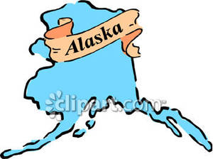 The State Of Alaska Royalty Free Clipart-The State Of Alaska Royalty Free Clipart Picture-18