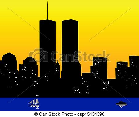 ... The Twin Towers In The United States-... the twin towers in the United States of America - the twin... ...-10