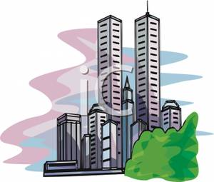 The Twin Towers Of New York Clipart Pict-The Twin Towers of New York Clipart Picture-11