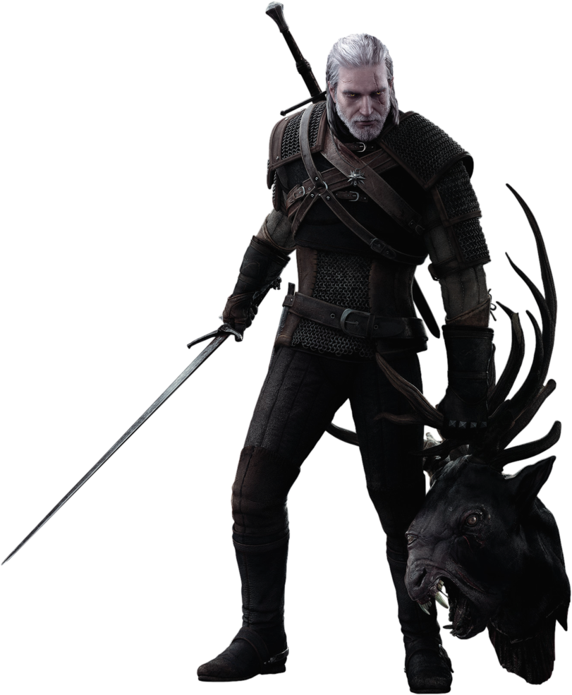 The Witcher Transparent Background