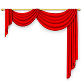 theater curtain; window curtains; red cu-theater curtain; window curtains; red curtain ...-8