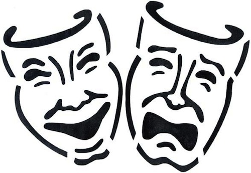 ... Theater Masks Clipart - clipartall ...