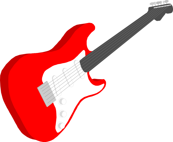 There Is 52 Red Guitar Free Cliparts All Used For Free