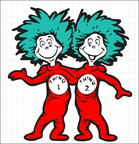 Thing 1 And Thing 2 Printable Clip Art C-Thing 1 And Thing 2 Printable Clip Art Clipart Best-15