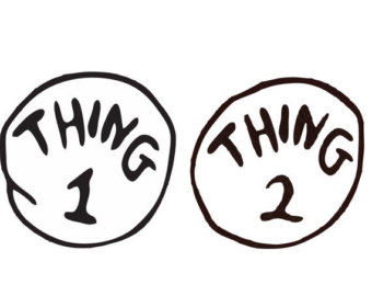 Thing 1 Thing 2 Clip Art Wedding Decorate Ideas