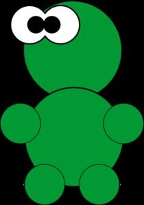 Little Green Thing Clip Art
