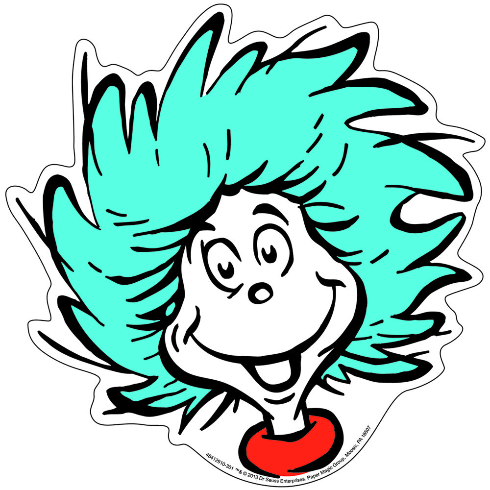 Pages Thing 1 And Thing 2 Cli - Thing Clipart