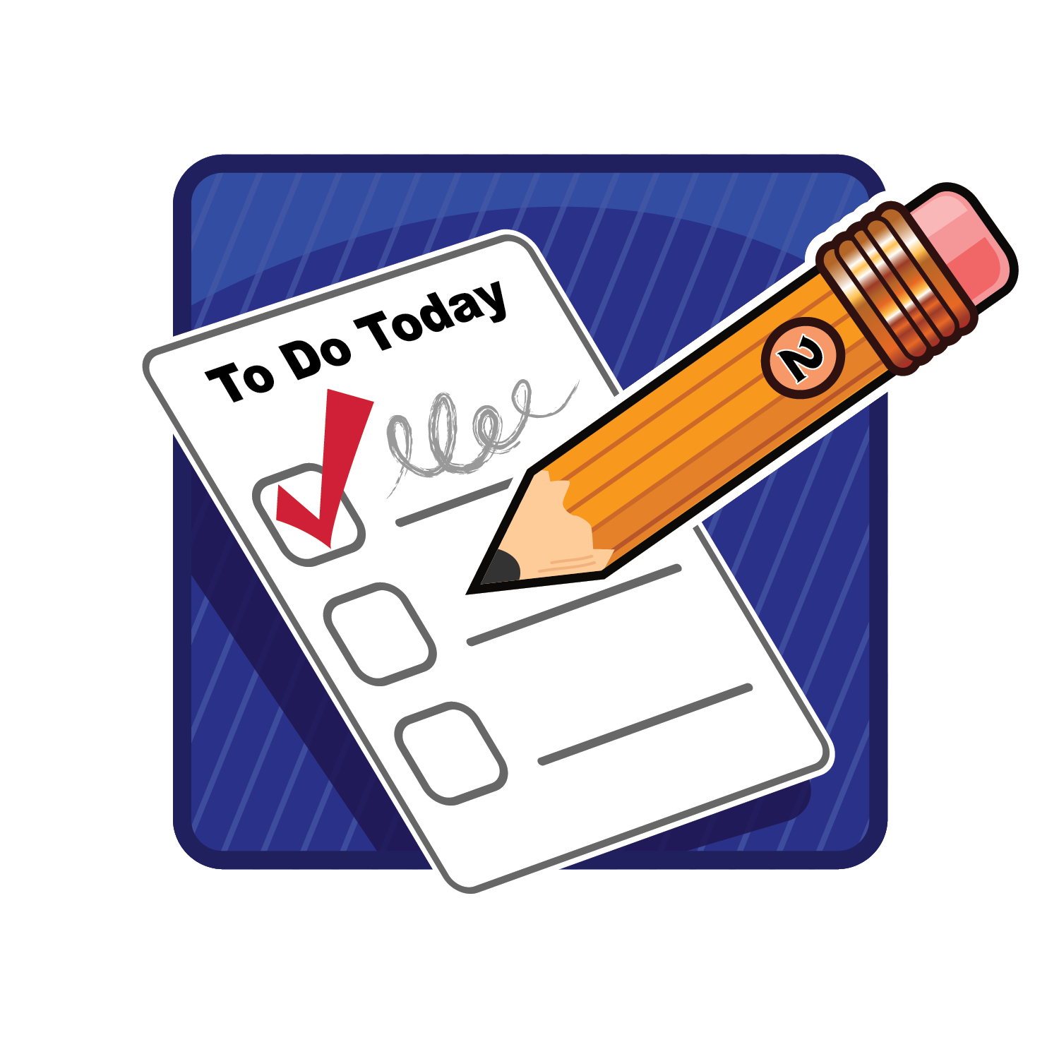 Things to Do List Clip Art