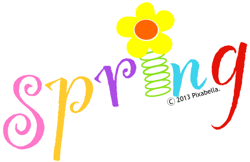 Think Spring Clip Art Cliparts Co