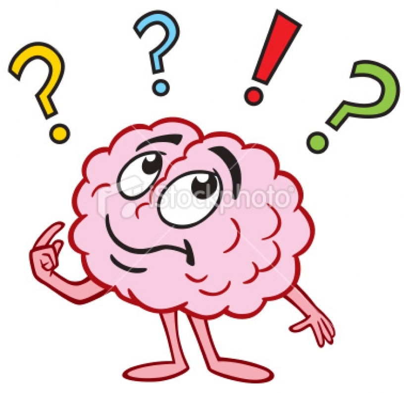 thinking brain clipart for .