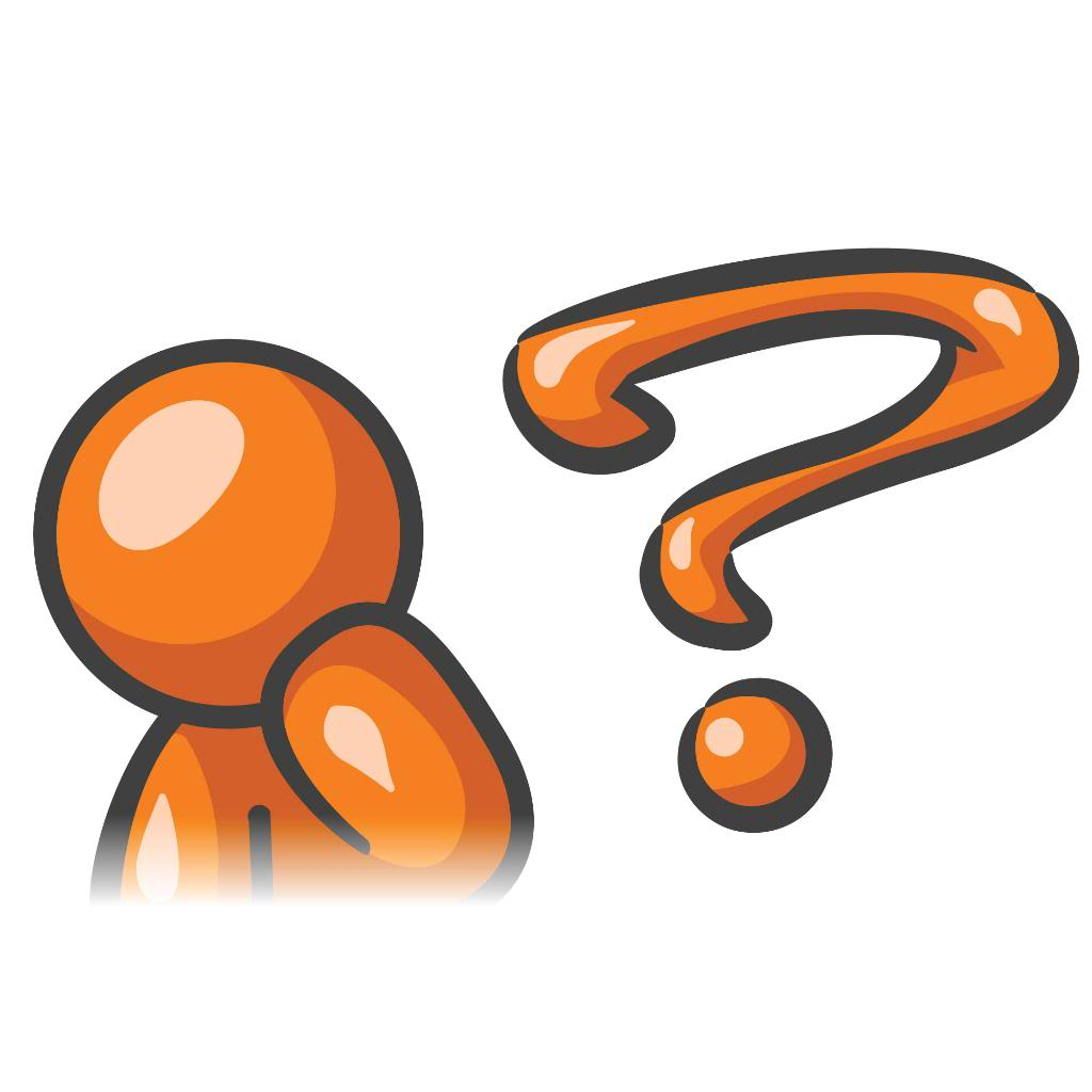 Thinking Clipart Thinking Clipart Orange Man Thinking Question 1 Jpg