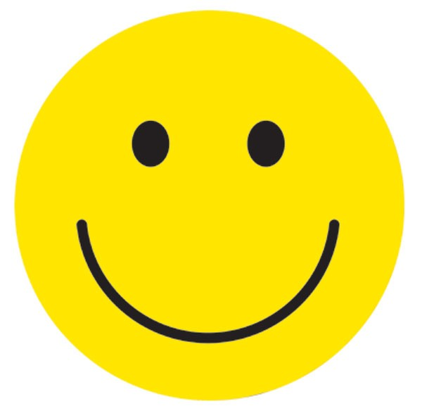 Happy Face Star Clipart .
