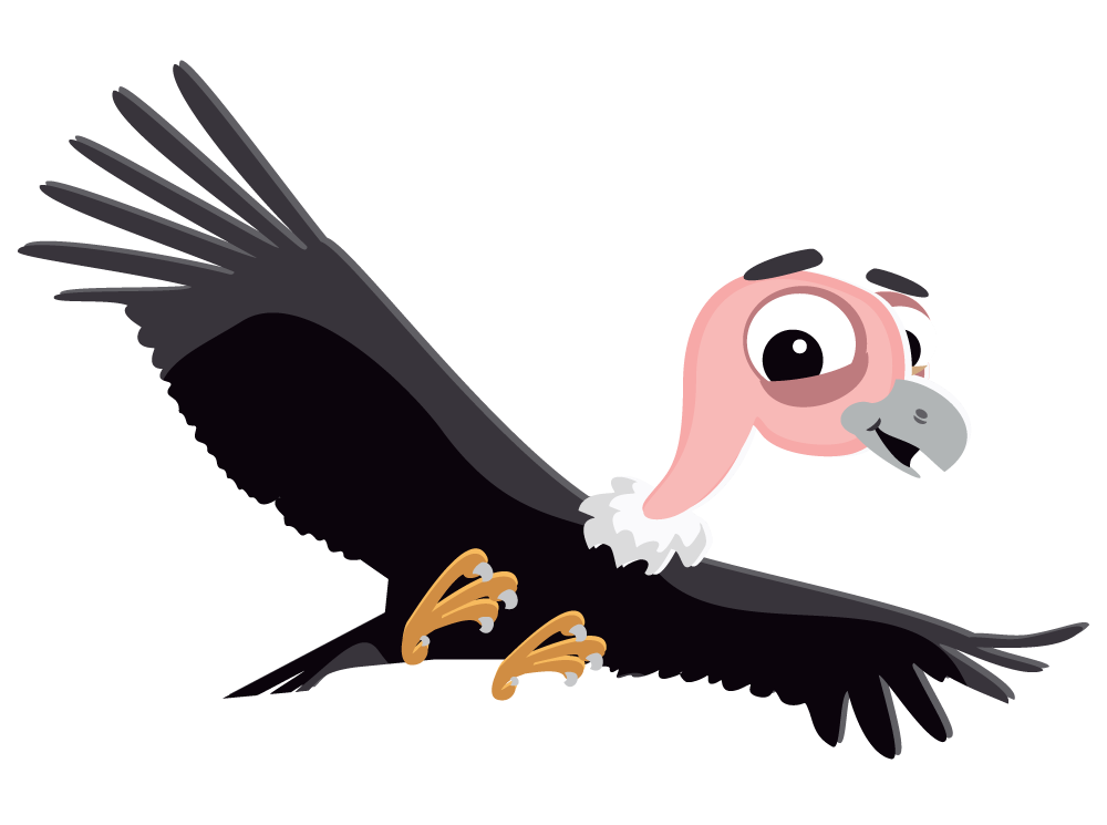This cartoon flying vulture clip art is free for personal or commercial use. This clip art is licensed under a Creative Commons Attribution 3.0 Unported ...