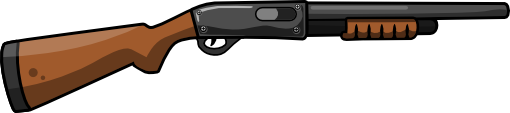 This Cartoon Shotgun Clip Art Is License-This cartoon shotgun clip art is licensed under a Creative Commons Attribution 3.0 Unported License. You can use this clip art on your military projects, ...-15