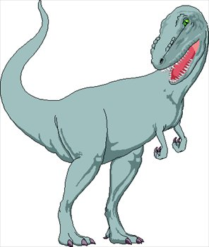 This Clip Art Picture Is Of A Tyrannosau-This Clip Art Picture Is Of A Tyrannosaurus Rex The T Rex Was A Large-19