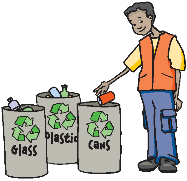 This clip art which helps pro - Recycling Clipart