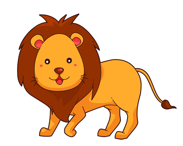 This cute lion clip art is great for use on your childrenu0026#39;s