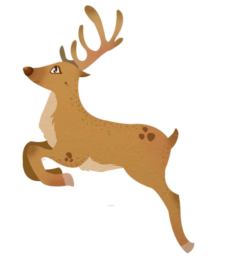 This flying reindeer clip art is perfect for use on your Christmas projects like on your e-cards, art and craft projects, school projects, videos, blogs, ...