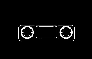 This Free Clipart Design Of Tape Cassett-This free Clipart design of Tape cassette ...-13