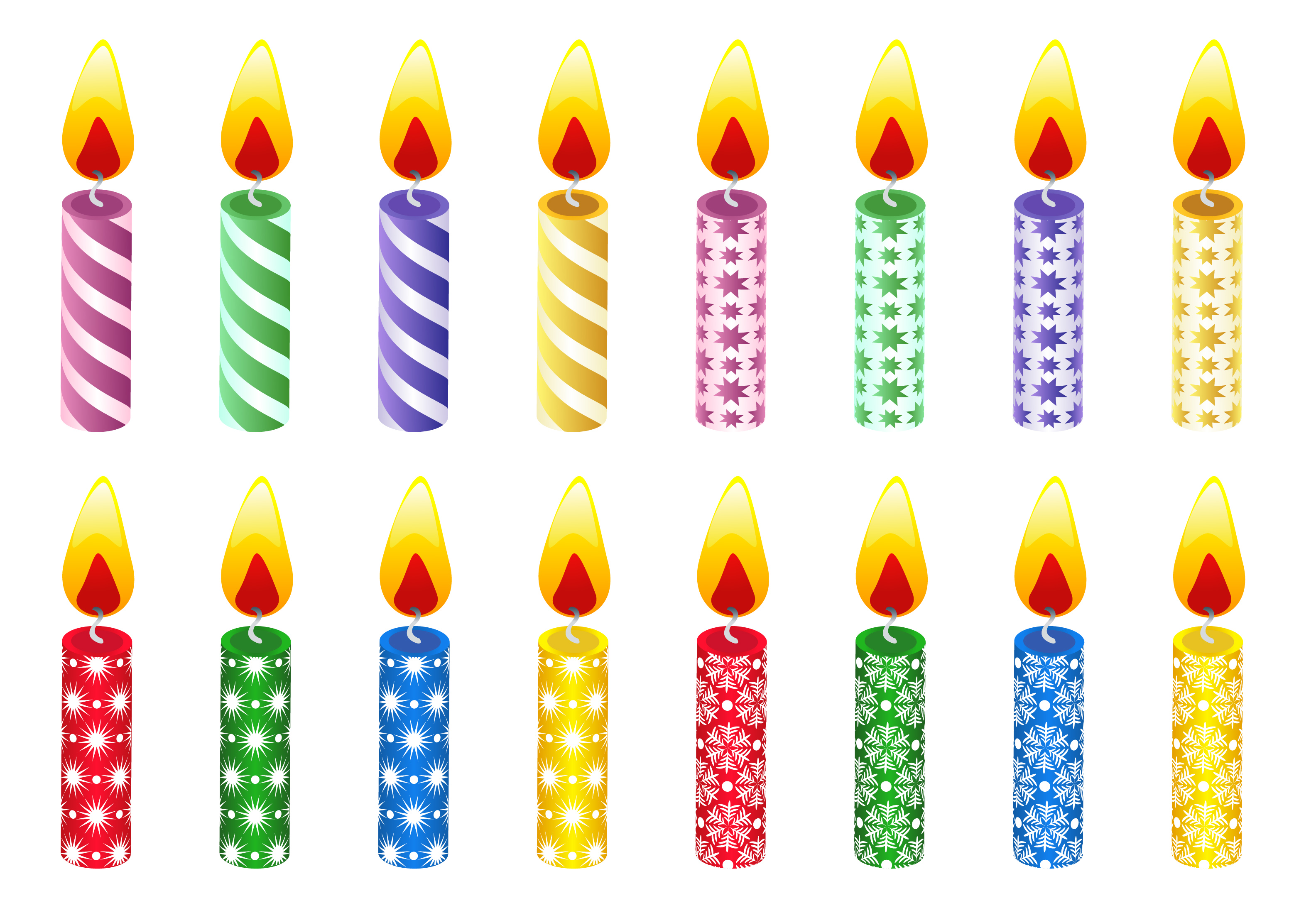 This Is A Great Set Of Birthday Candles -This Is A Great Set Of Birthday Candles To Use For Games Or Classroom-16