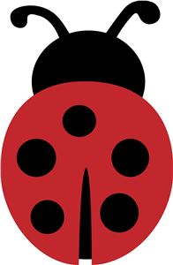 This ladybug is perfect for decorating a party for your little lady (think invites, treat bags, banners and cupcake toppers!)