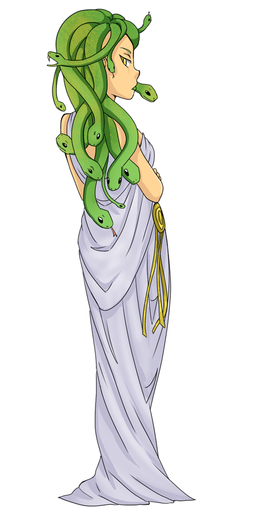 This nice clip art of Medusa is perfect for use on whatever project of yours that requires an image of Medusa. You can use this clip art on your commercial ...