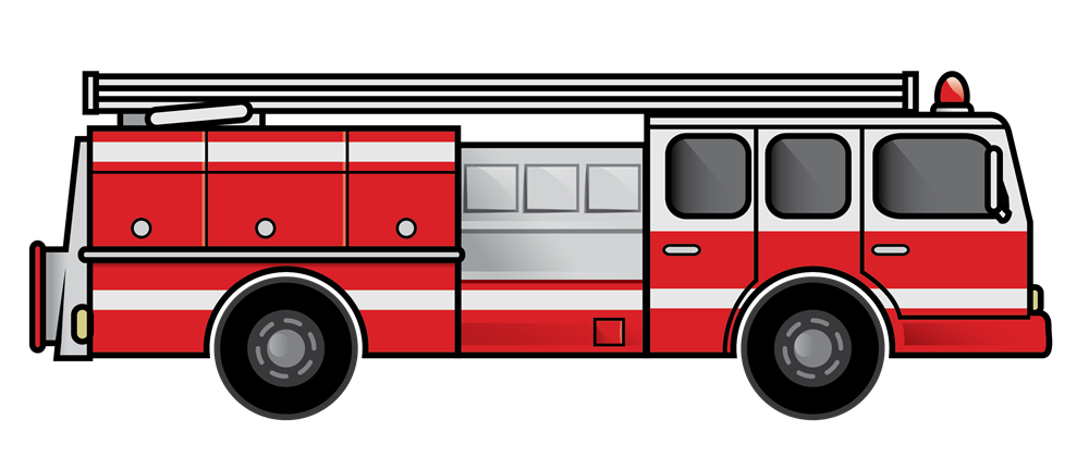 This nice fire truck clip art is free for use on your personal or  commercial projects. Whether for use on your websites or book  illustrations, this clip art ...