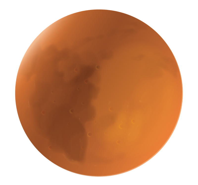 This Planet Mars Clip Art Is Great For U-This planet Mars clip art is great for use on whatever project of yours that requires an image of planet Mars. Whether for use on your school projects or ...-16