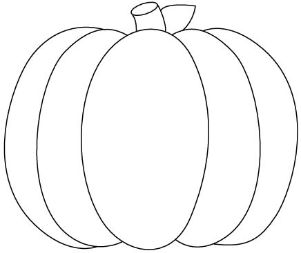 This Pumpkin Outline Printable Is Perfec-This Pumpkin Outline Printable is perfect for your task browse other Pumpkin Outline Printable on Food clip art category. You can download and use this clip ...-16