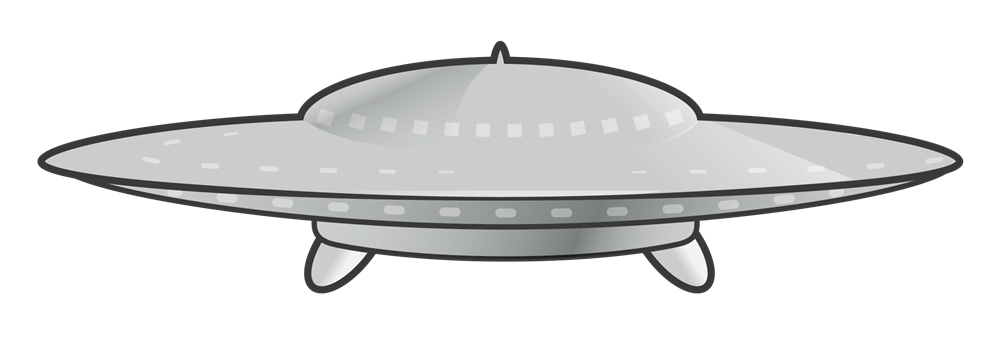 This unidentified flying object or UFO clip art is free for personal or commercial use. Spice up your space projects, magazines, school projects, e-books, ...
