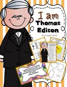 Thomas Edison Is One Of The Most Excitin-Thomas Edison is one of the most exciting inventors! My students get so excited to-15