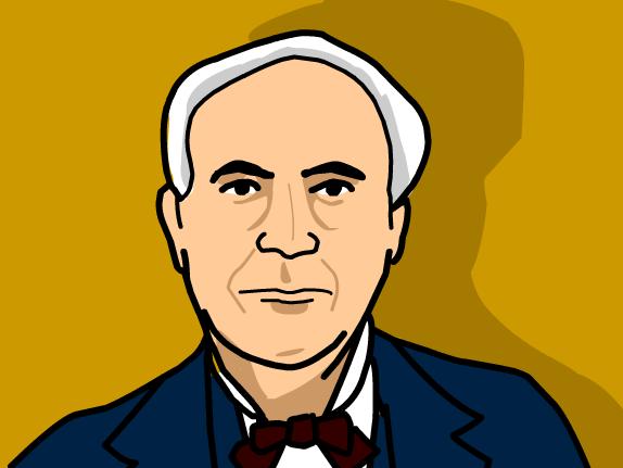 Thomas Edison ... .-Thomas Edison ... .-16