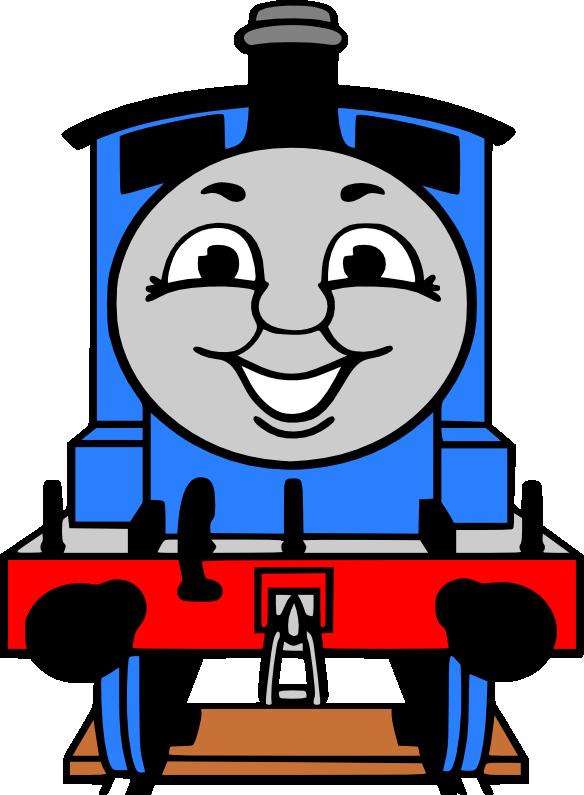 Thomas The Train Clipart Kid