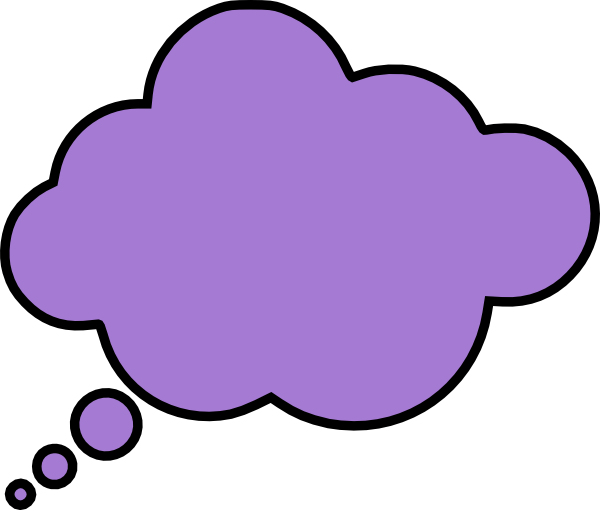 Thought Bubble Clip Art At Clker Com Vector Clip Art Online Royalty