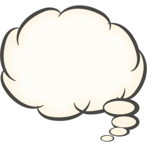 Thought Bubble Clipart .