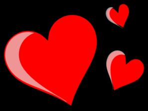 Three Hearts Clipart-Three hearts clipart-12