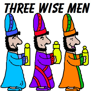 Three Wise Men Clipart Christmas Clipart