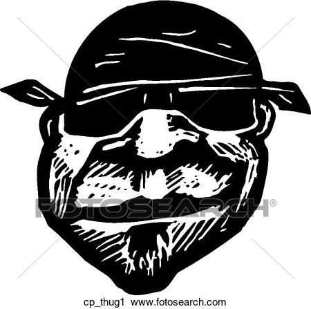 Clipart - thug 1. Fotosearch - Search Cl-Clipart - thug 1. Fotosearch - Search Clip Art, Illustration Murals,  Drawings and-3
