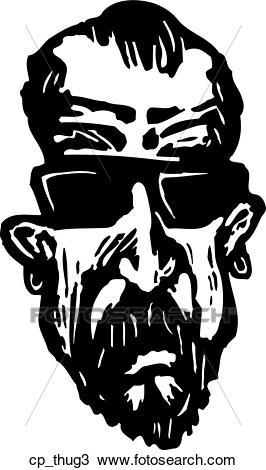Clipart - thug 3. Fotosearch - Search Cl-Clipart - thug 3. Fotosearch - Search Clip Art, Illustration Murals,  Drawings and-21
