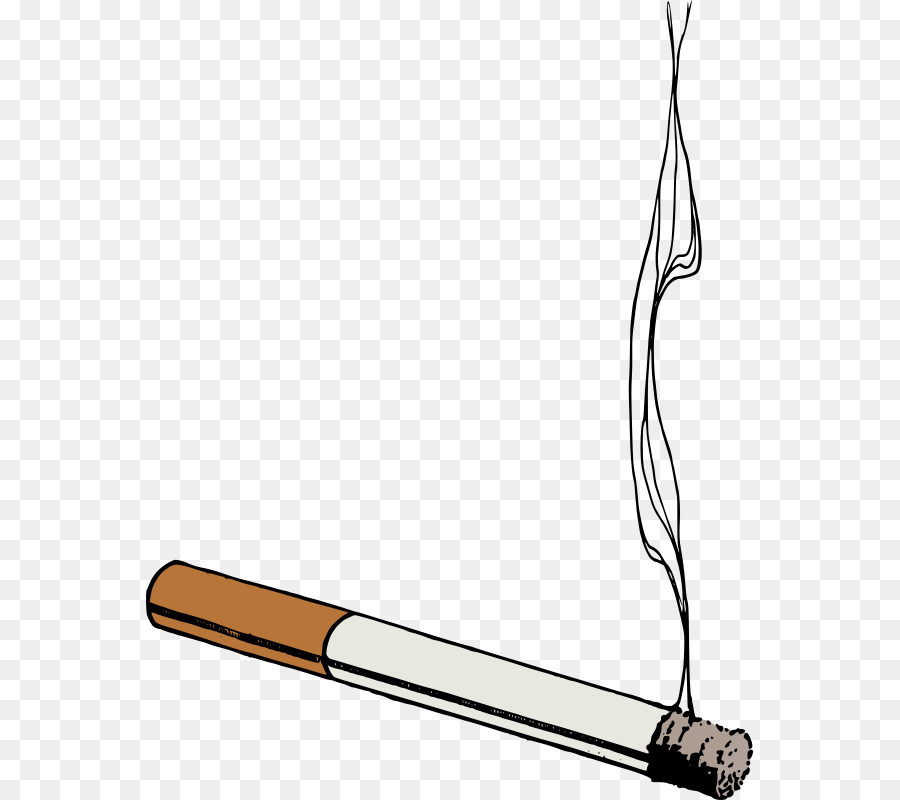 Cigarette Smoking Royalty-free Clip art - Thug Life Cigarette PNG Clipart