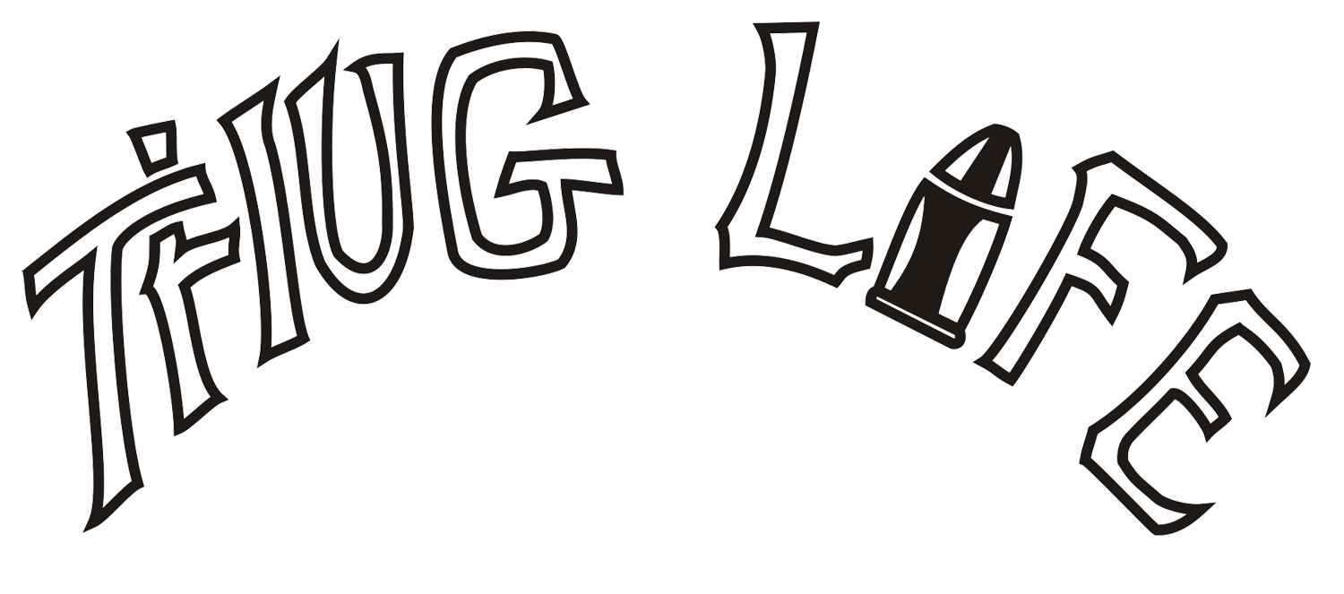 Thug Life Text PNG Clipart-Thug Life Text PNG Clipart-11