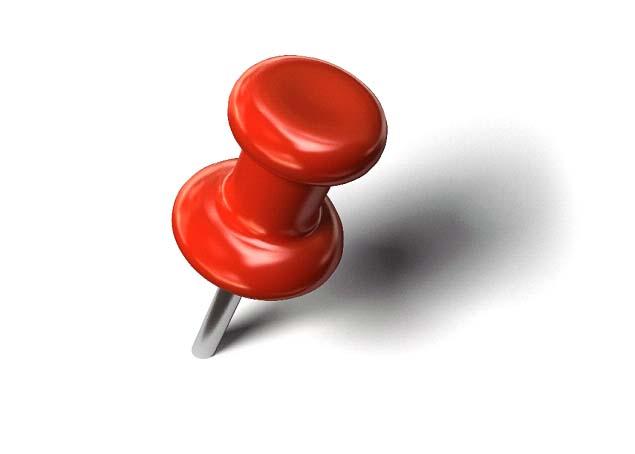Thumb Tack Clip Art