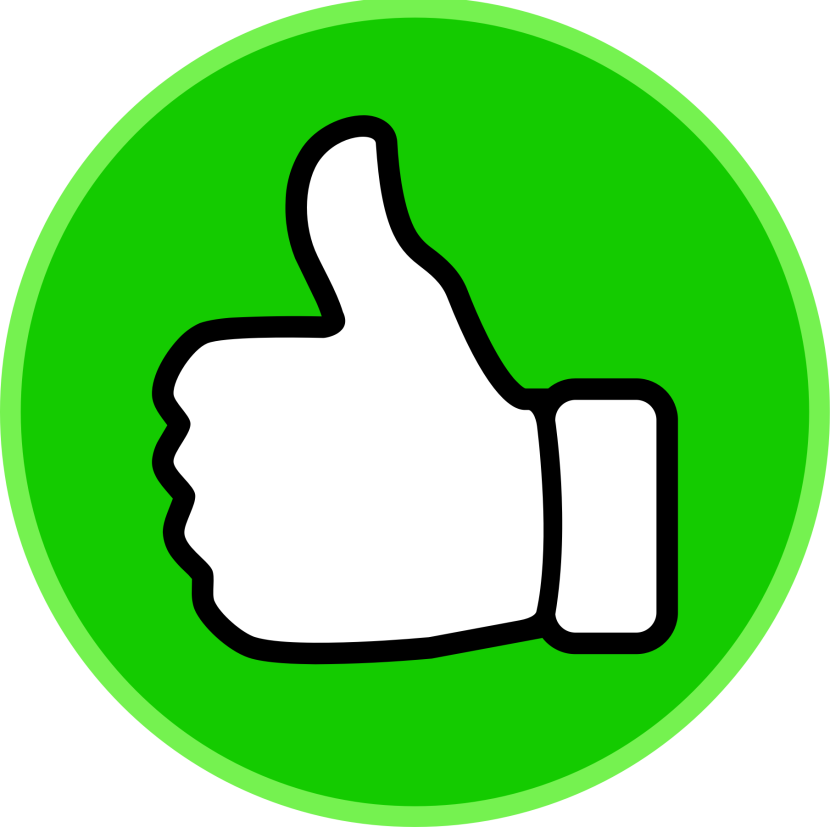 Thumbs up clipart 2