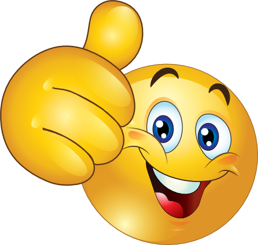 Thumbs Up Happy Smiley Emoticon Clipart -Thumbs Up Happy Smiley Emoticon Clipart Royalty Free Public Domain-18
