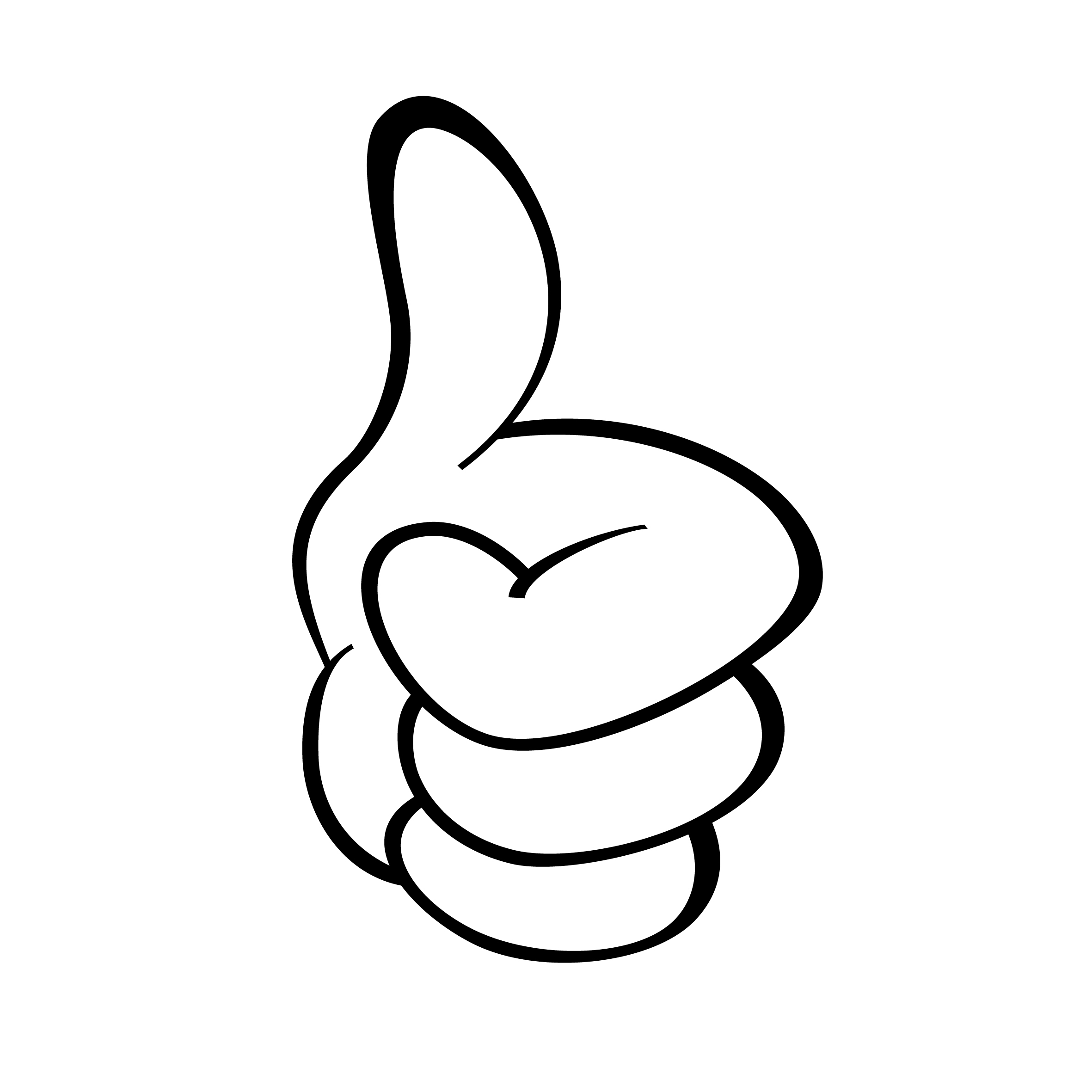 Thumbs up smily clipart