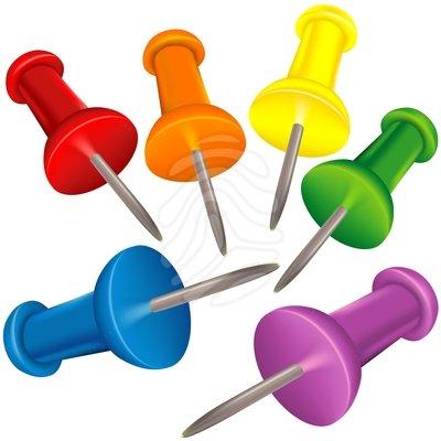 Thumbtack - clipart #83883521 - Thumbtack Clipart