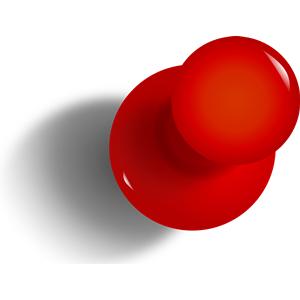 Thumbtack Pushpin Clipart Cliparts Of Thumbtack Pushpin Free Download