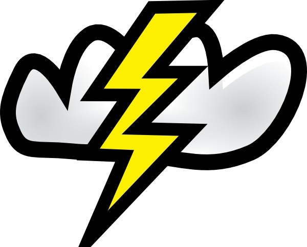 Thunder Storm clip art