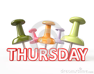 ... Thursday Clipart ...