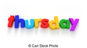 ... Thursday - Thursday Clip Art